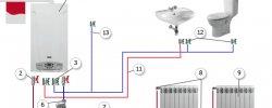Система Отопления Настенным Газовым Котлом